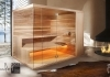 Exclusive Design Sauna in Minimal Stil